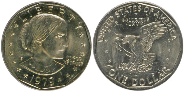 1979 Susan B. Anthony Dollar
